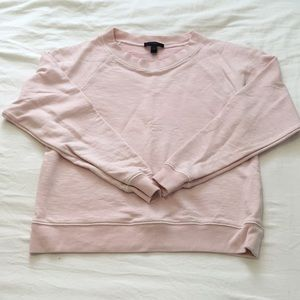 J Crew summer weight sweatshirt